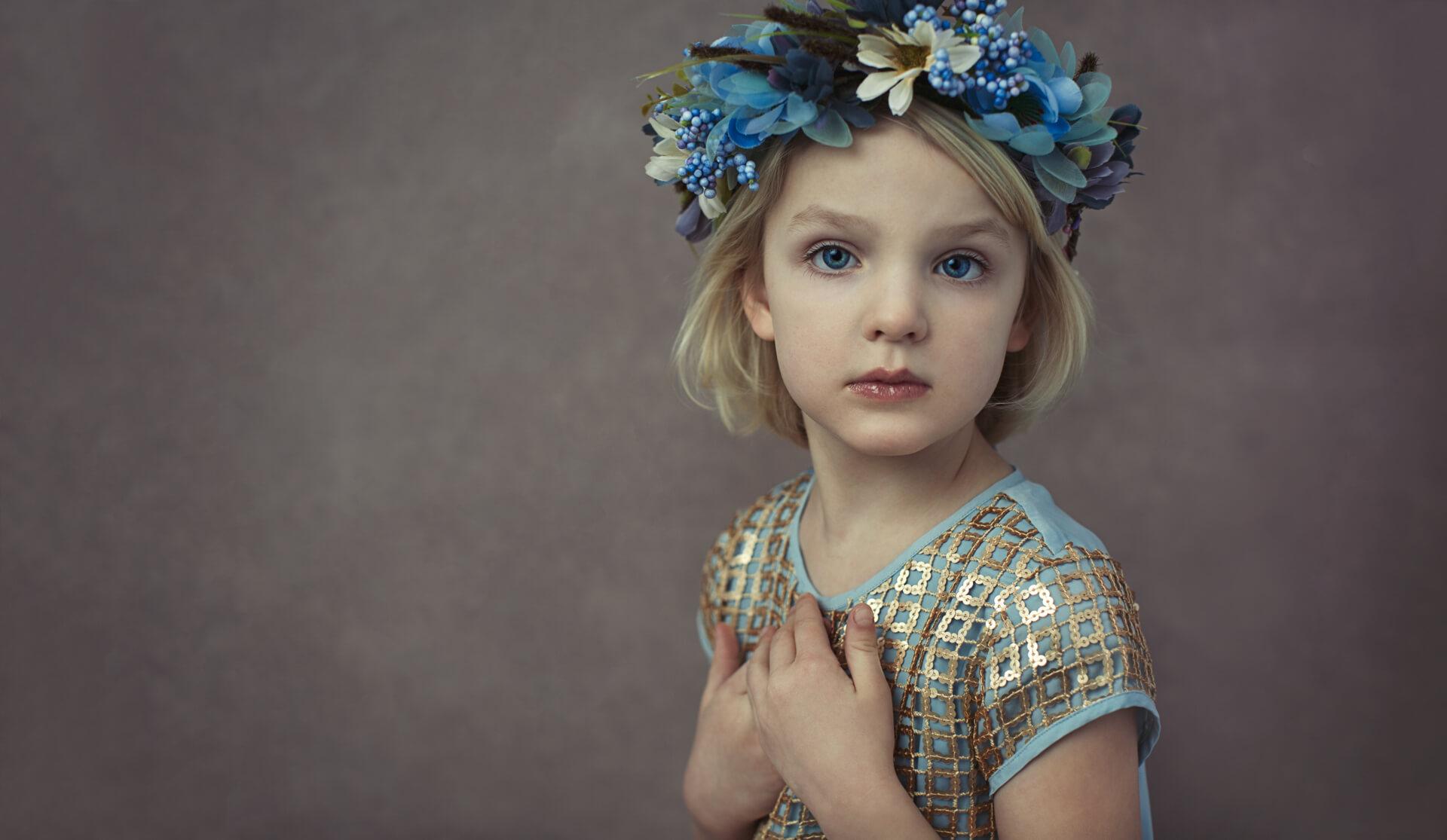 Portrætfoto børn