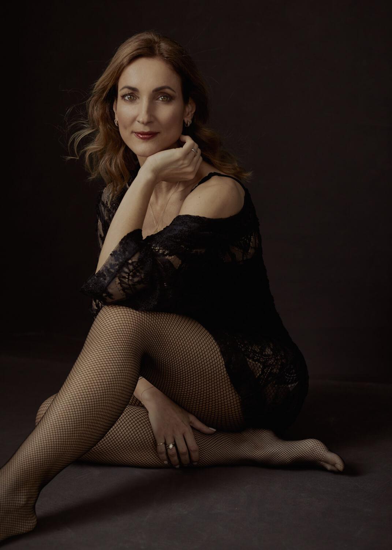 boudoir portrætfoto